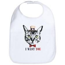 Uncle Cat Bib