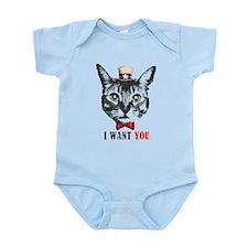 Uncle Cat Infant Bodysuit