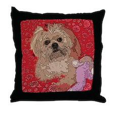 Shih Tzu Pop Art Shelbi Throw Pillow