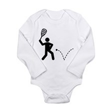 Squash Long Sleeve Infant Bodysuit
