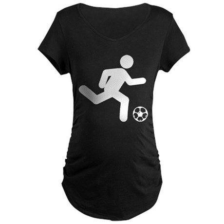 Soccer Maternity Dark T-Shirt
