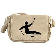 Sled Hockey Messenger Bag