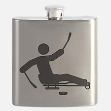 Sled Hockey Flask