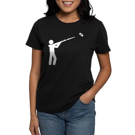 Skeet Shooting Women's Dark T-Shirt