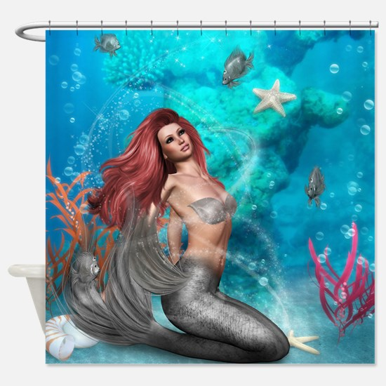 Magic Mermaid Shower Curtain