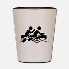 Rafting Shot Glass