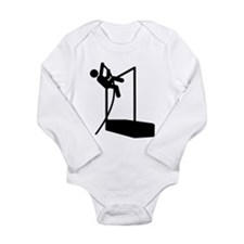 Pole Vault Long Sleeve Infant Bodysuit