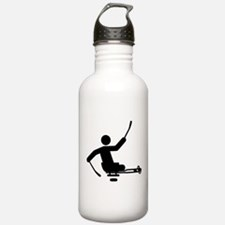 Physically Challenged Sled Hockey Water Bottle