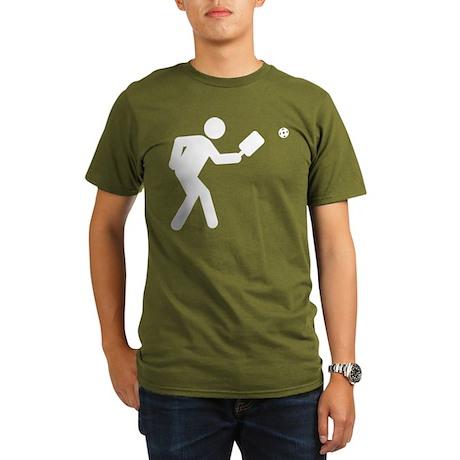 Pickleball Organic Men's T-Shirt (dark)