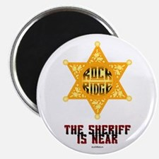 The Sheriff is Near Magnet