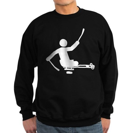 Physically Challenged Sled Hockey Sweatshirt (dark