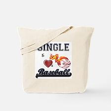 SINGLE & LOVES POOL! Tote Bag