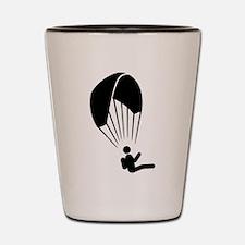Paragliding Shot Glass