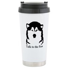Talk to the paw Travel Mug