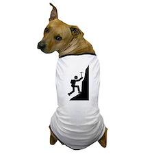 Mountain Climbing Dog T-Shirt