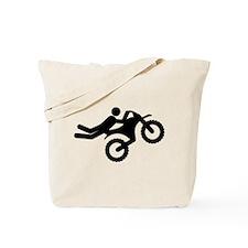Motocross Tote Bag