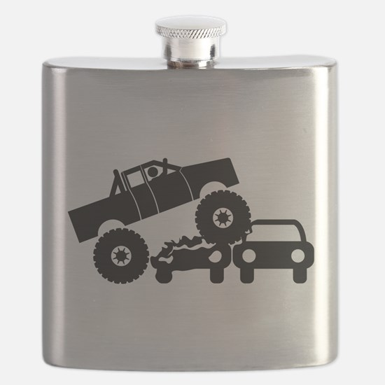 Monster Truck Flask