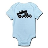 Monster truck Bodysuits