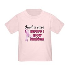 Find a cure breast cancer T