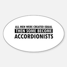 Accordionists Designs Decal