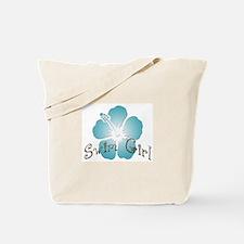 Swim Girl - Blue Tote Bag