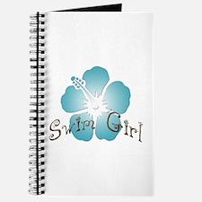 Swim Girl - Blue Journal