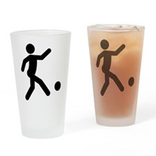 Kickball Drinking Glass
