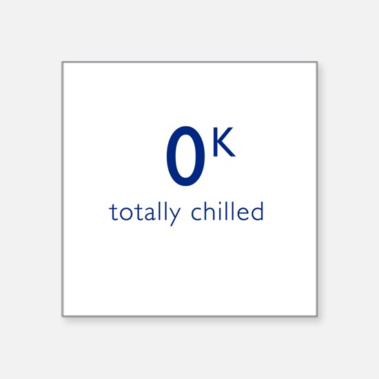 Totally Chilled - Kelvin Version T Shirt Square St
