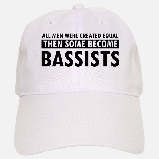 Bassists Designs Baseball Baseball Cap