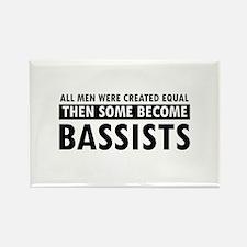 Bassists Designs Rectangle Magnet