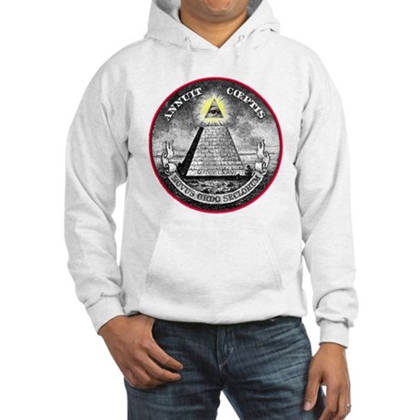 "Weird Dollar ""Illuminati"" Hooded Sweatshirt"