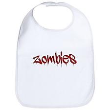 White Zombies Bib
