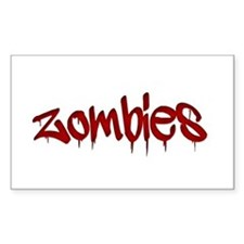 White Zombies Bumper Stickers