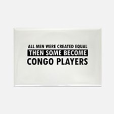 Congo Players Designs Rectangle Magnet