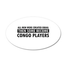 Congo Players Designs Wall Decal