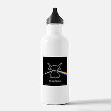 Dark Side of the Moo Water Bottle