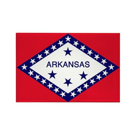Arkansas Flag Rectangle Magnet
