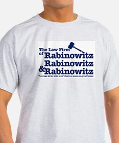 Rabinowitz Law Firm - Ash Grey T-Shirt
