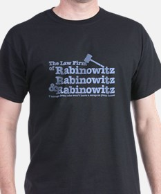 Rabinowitz Law Firm - Black T-Shirt