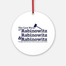 Rabinowitz Law Firm - Ornament (Round)
