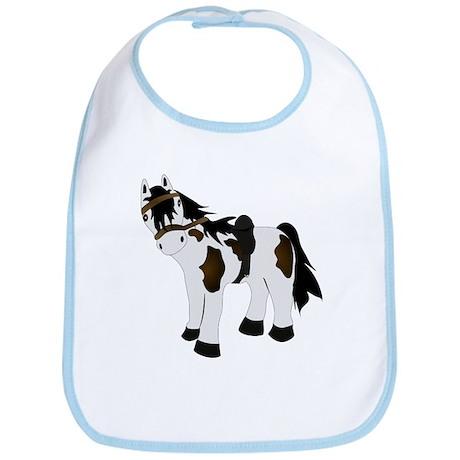 Cute Paint Pony Bib