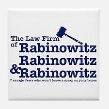 Rabinowitz Law Firm - Tile Coaster