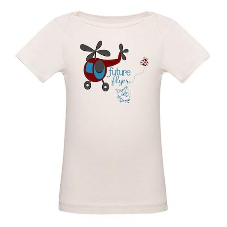 Future Flyer Organic Baby T-Shirt