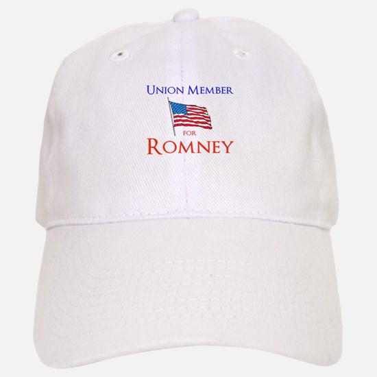 Union Member for Romney Baseball Baseball Cap