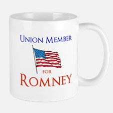 Union Member for Romney Mug