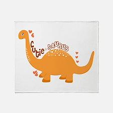 Cutie-Saurus Throw Blanket