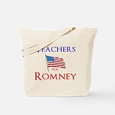 Teachers for Romney Tote Bag