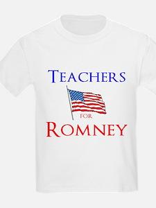 Teachers for Romney T-Shirt