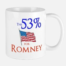 The 53% for Romney Mug