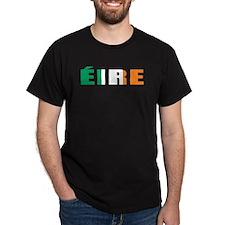 Ireland (Irish) Black T-Shirt